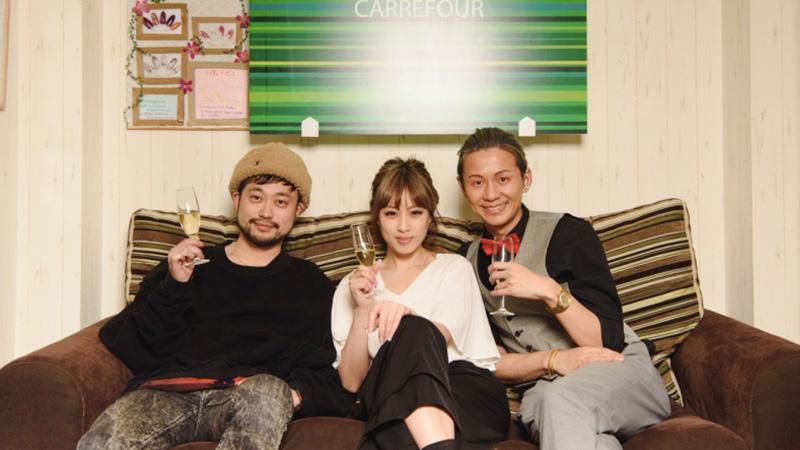 京極琉さんとモデルさんたちの写真